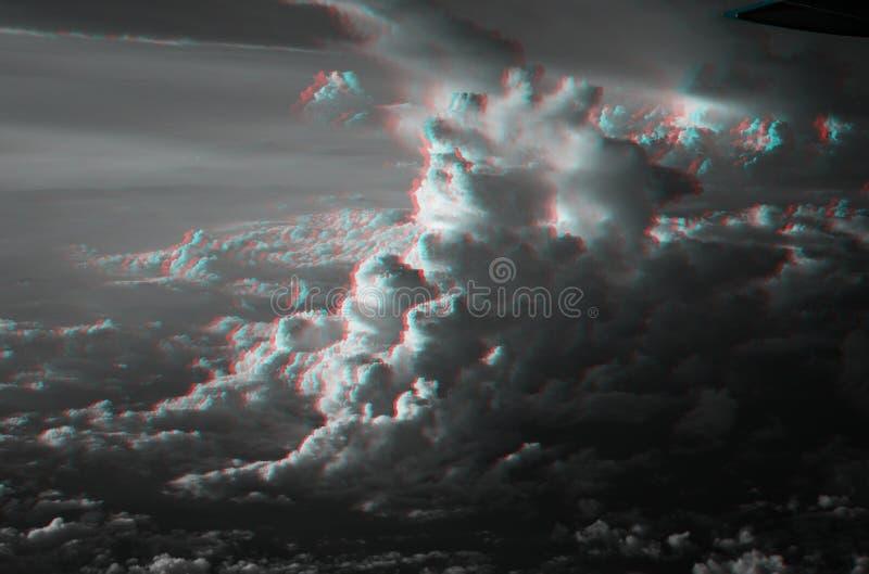 nuvole 3D immagini stock