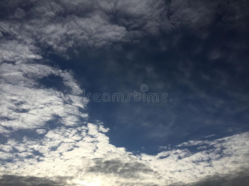 Nuvole 014 fotografia stock
