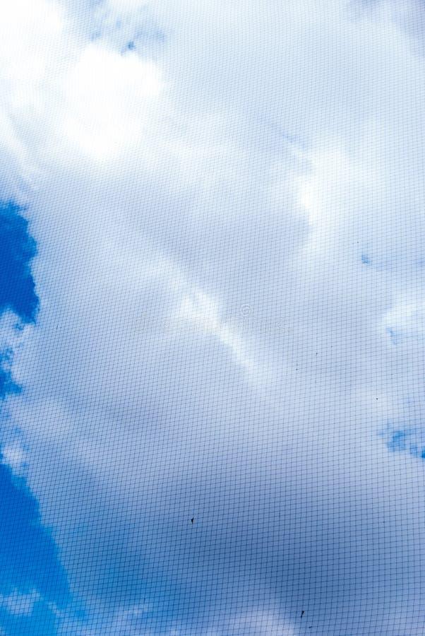 Nuvole bloccate fotografia stock libera da diritti