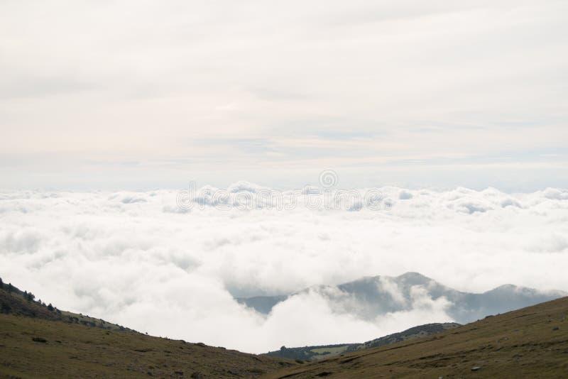Nuvole dall'aereo immagine stock libera da diritti