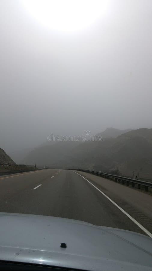 Nuvole della neve che si dirigono in Salt Lake City fotografia stock libera da diritti