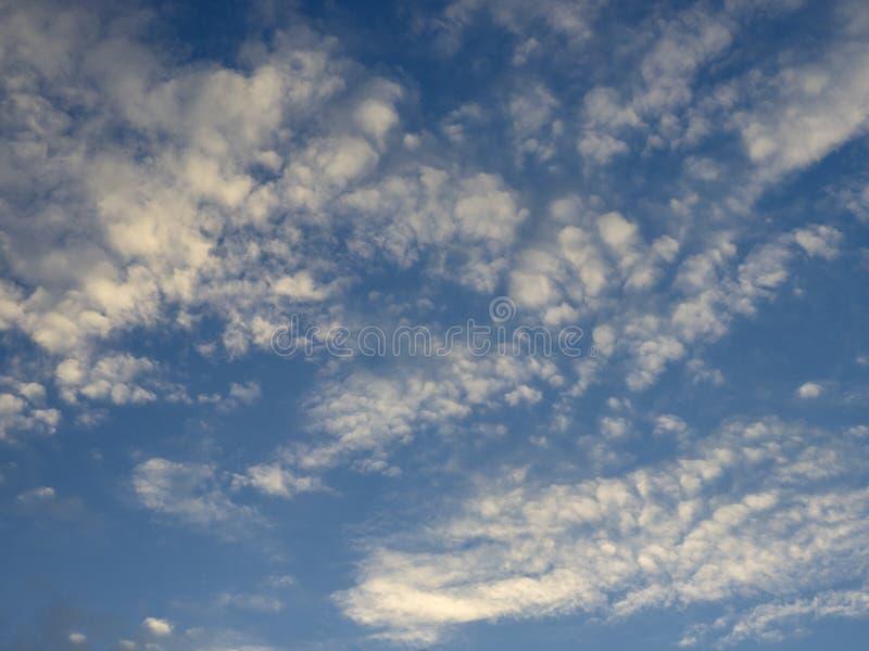 Nuvole leggere fotografia stock