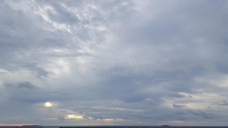 nuvoloso immagine stock libera da diritti