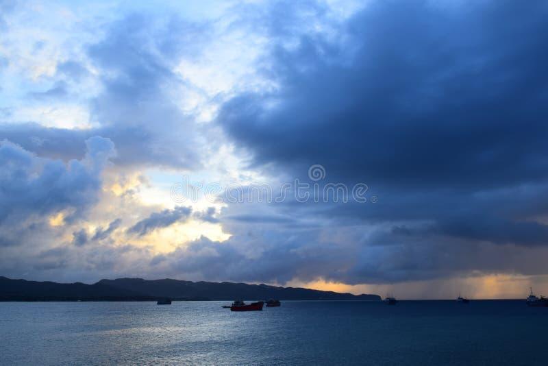 nuvoloso fotografie stock libere da diritti