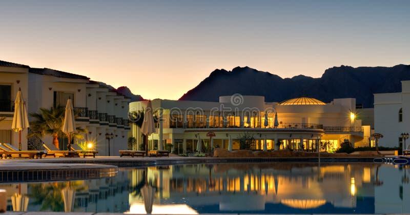 Nuweiba Beach Resort - Sinai Egypt royalty free stock image