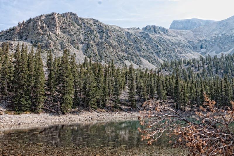 NV-μεγάλο εθνικό πάρκο λεκανών στοκ εικόνες