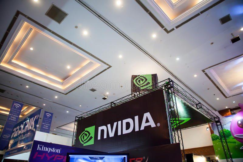 Download Nvidia In Indo Game Show 2013 Editorial Stock Image - Image: 33492004