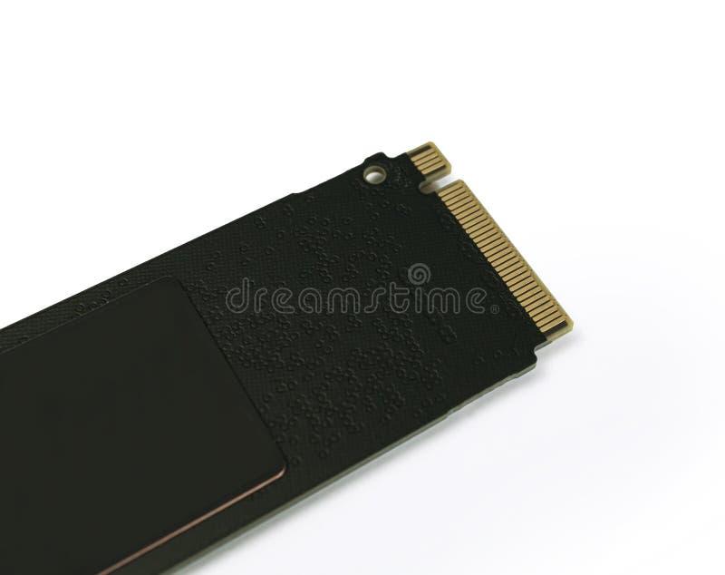 NVME M2 SSD-Festkörperscheibe für Datenspeicherung an der Hochgeschwindigkeitsnahaufnahme stockbilder
