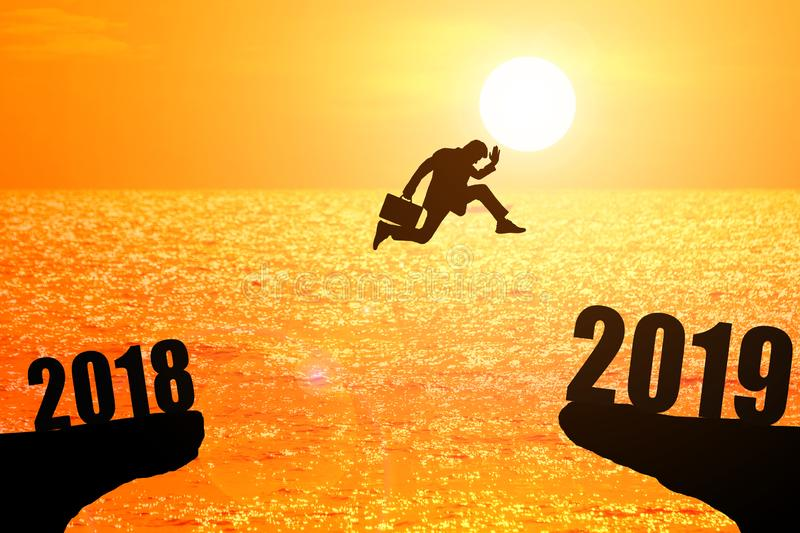 2019 nws year concept royalty free stock images