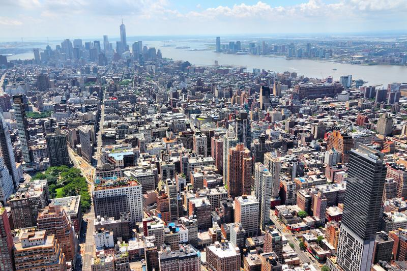 NY都市风景 免版税图库摄影