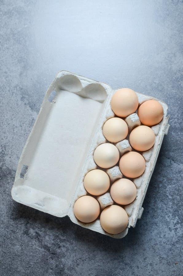 Ny äggbakgrund fotografering för bildbyråer
