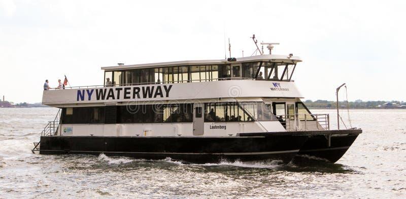 NY水路 免版税图库摄影