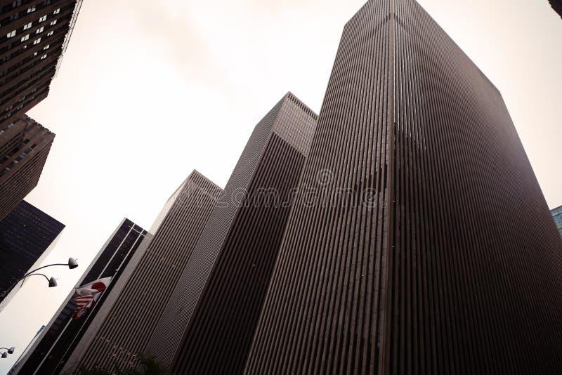 Небоскреб, Нью-Йорк, NY стоковое изображение rf