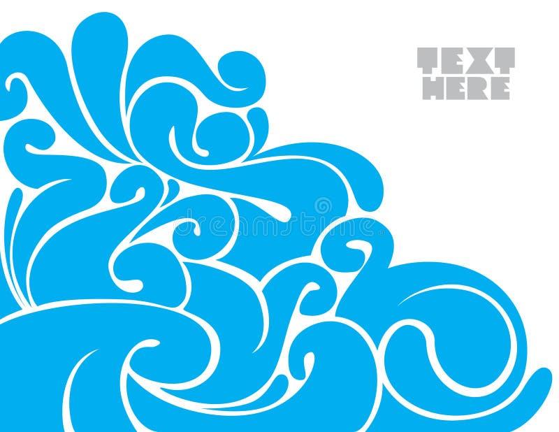 ny abstrakt bakgrund vektor illustrationer
