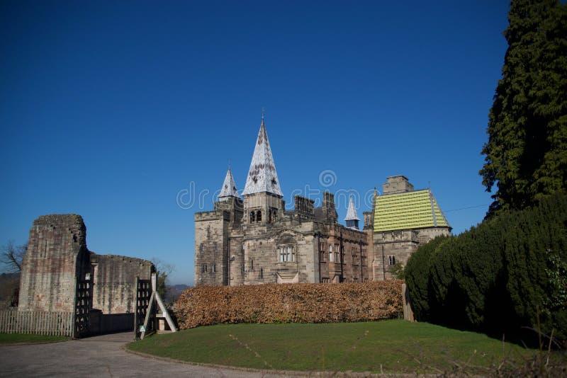 Ny Alton slott som är gammal och royaltyfri bild