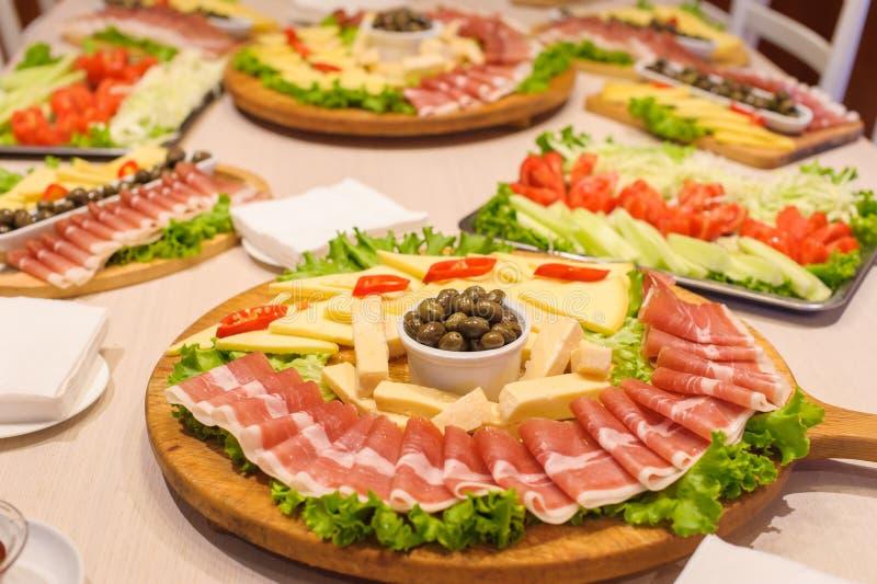Ny aptitretaremat, italiensk kokkonst royaltyfri foto