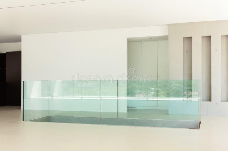 Ny arkitektur, korridor arkivfoton