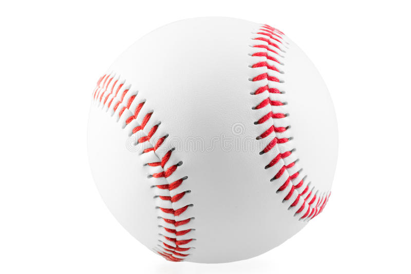 Ny boll för leken av baseball arkivbild