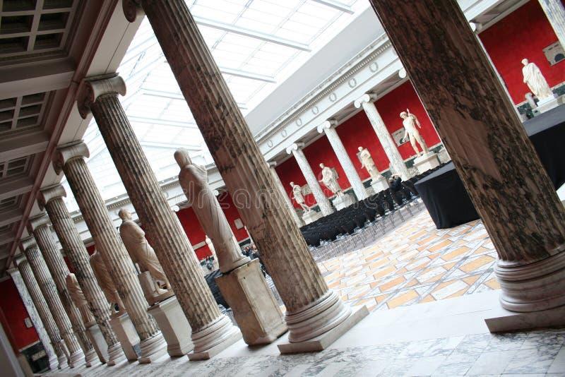 Ny Carlsberg Glyptotek in Kopenhagen lizenzfreies stockbild