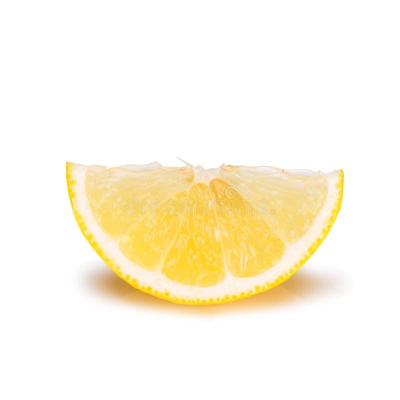 ny citronskivayellow arkivbild