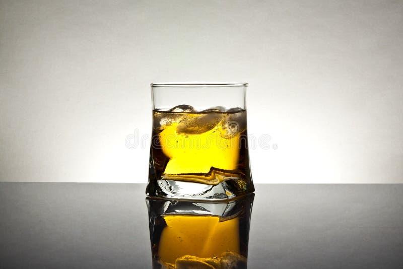 Ny drink med is royaltyfri bild