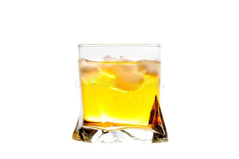 Ny drink med is arkivbild