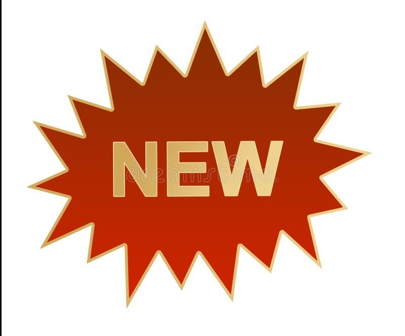 ny etikett för logo