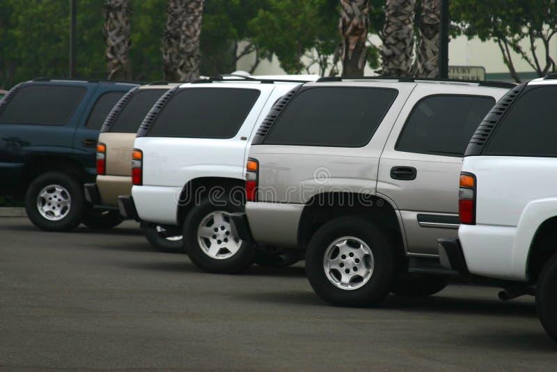ny försäljning för bilar royaltyfri foto