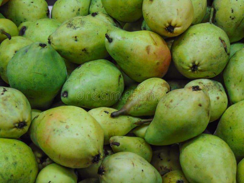 ny for f?r fruktmakropear royaltyfri bild