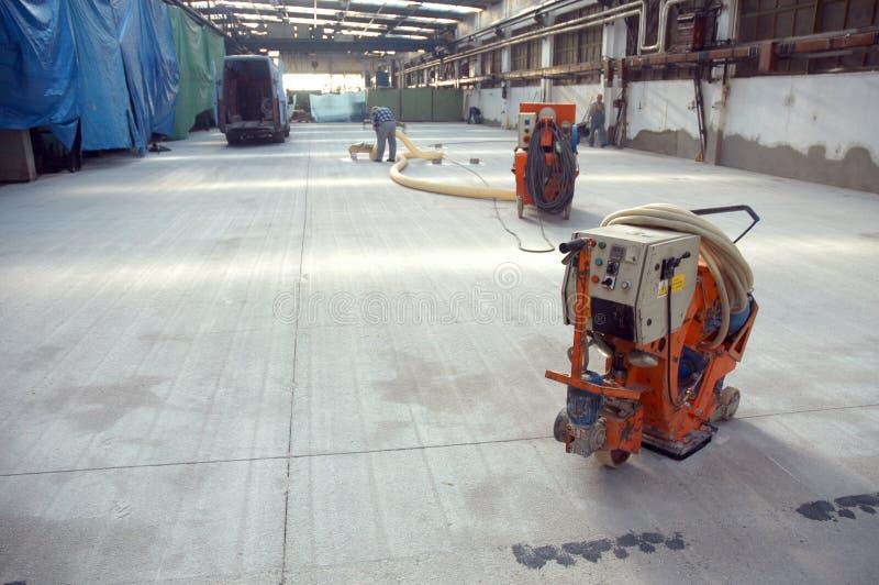 ny fabrikskorridor royaltyfria bilder