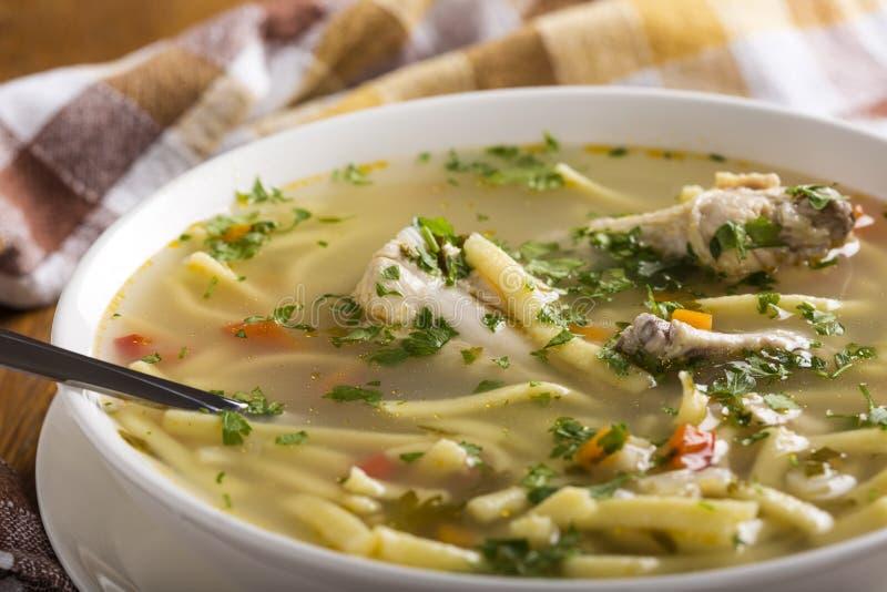 Ny feg soppa med nudeln royaltyfri bild