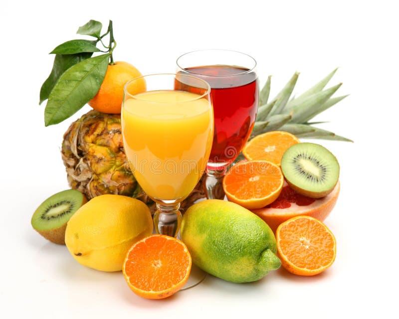 ny fruktfruktsaft royaltyfri foto