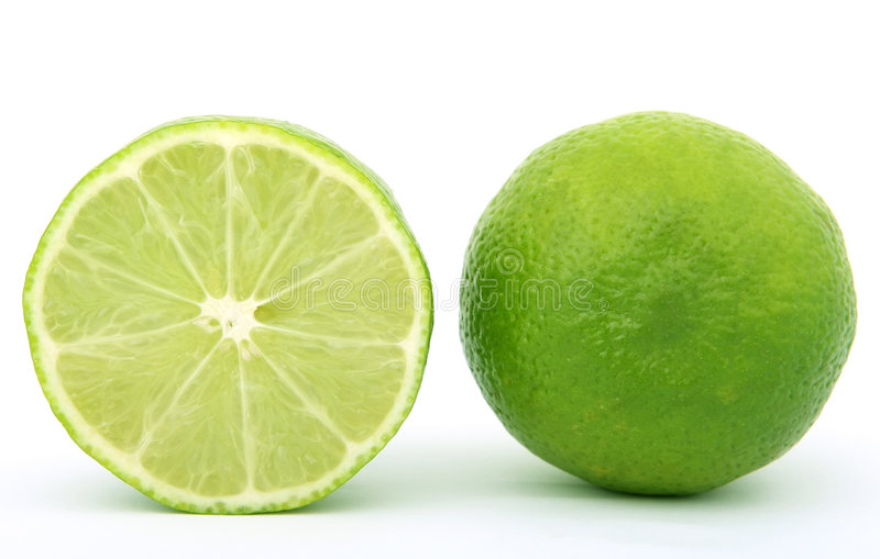 ny fruktlimefrukt royaltyfri foto