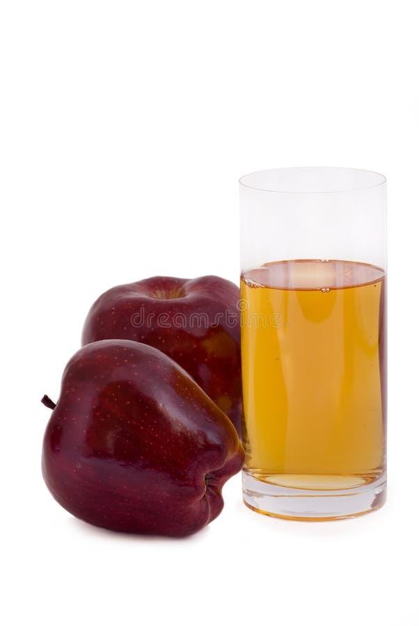 ny fruktsaft för äpple arkivbilder