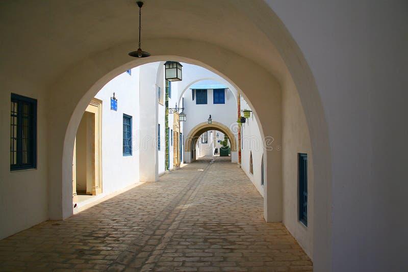 ny gata för medina royaltyfri foto