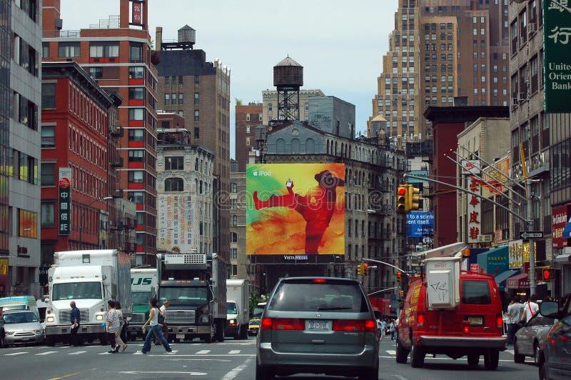 ny gata york för kanalstad royaltyfri fotografi