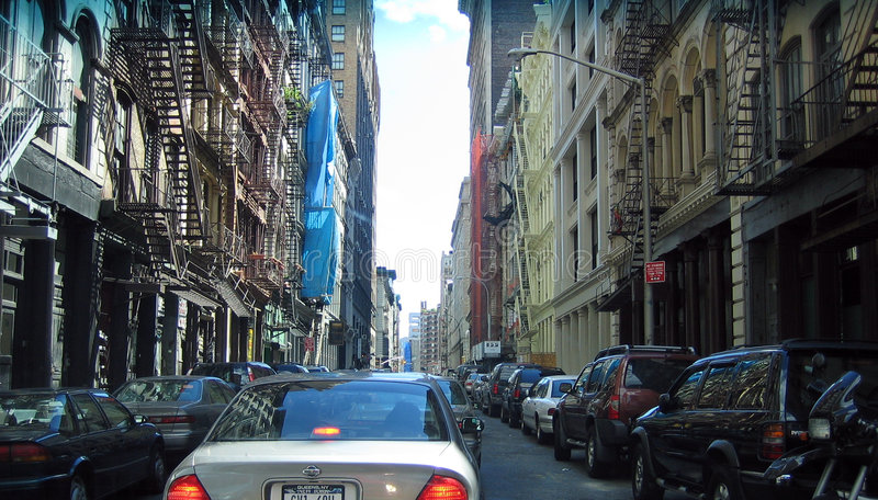 ny gata york för stad royaltyfri foto