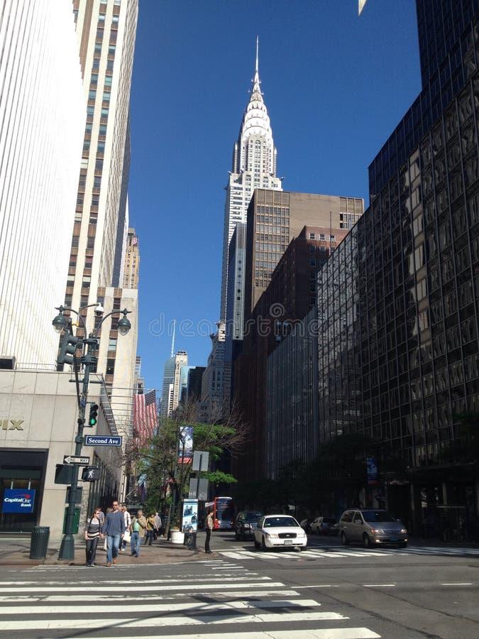 ny gatasikt york royaltyfri bild