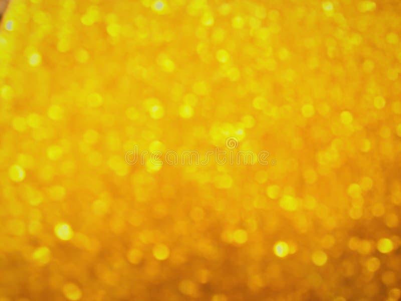 Ny guld- bokeh royaltyfri foto