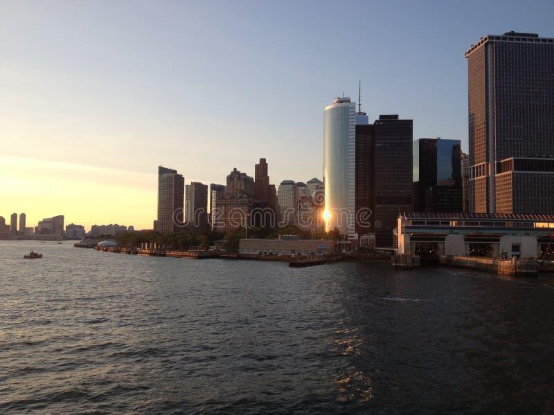 ny horisont york arkivfoton