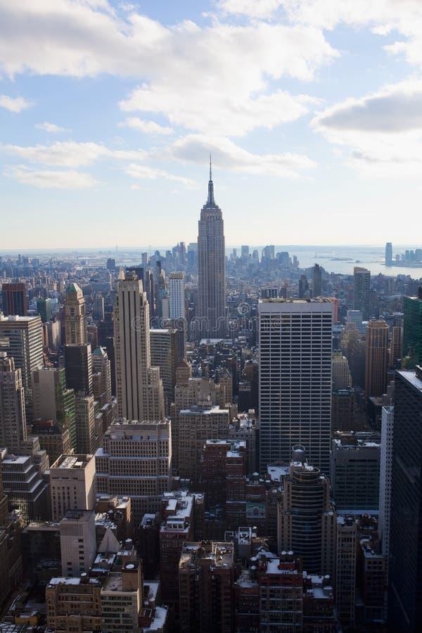 Download Ny horisont york för stad fotografering för bildbyråer. Bild av horisont - 19792411