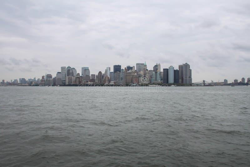 NY Horizon royalty-vrije stock foto's