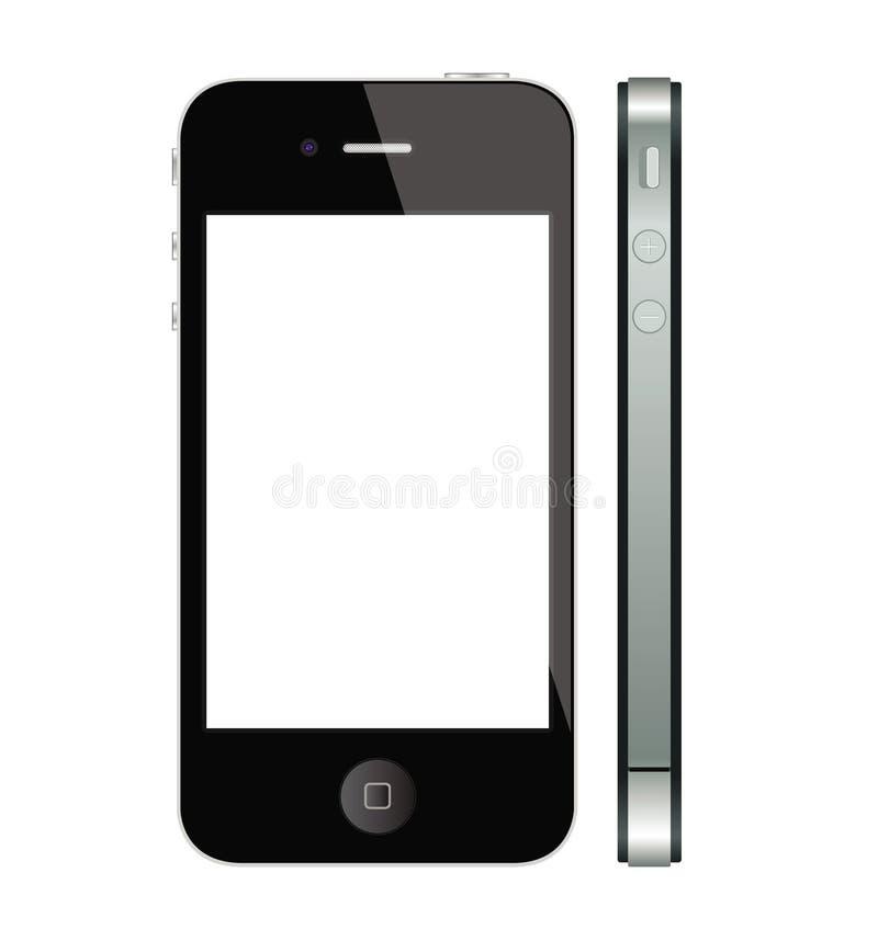 ny iphone för äpple 4 4s royaltyfri illustrationer
