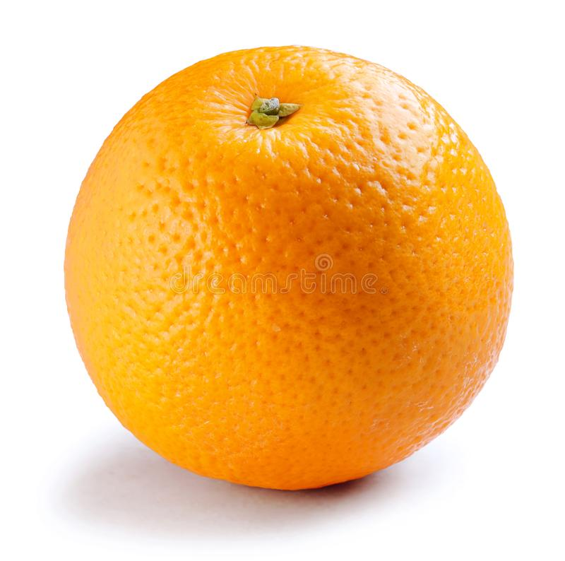 ny isolerad orange white för bakgrund royaltyfria foton