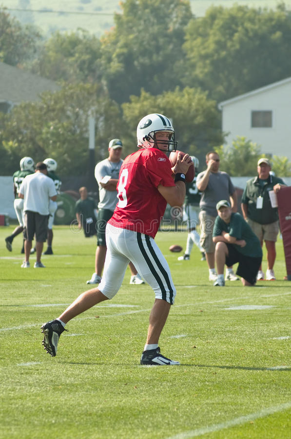Download Ny jets training camp editorial photo. Image of brunell - 15443506