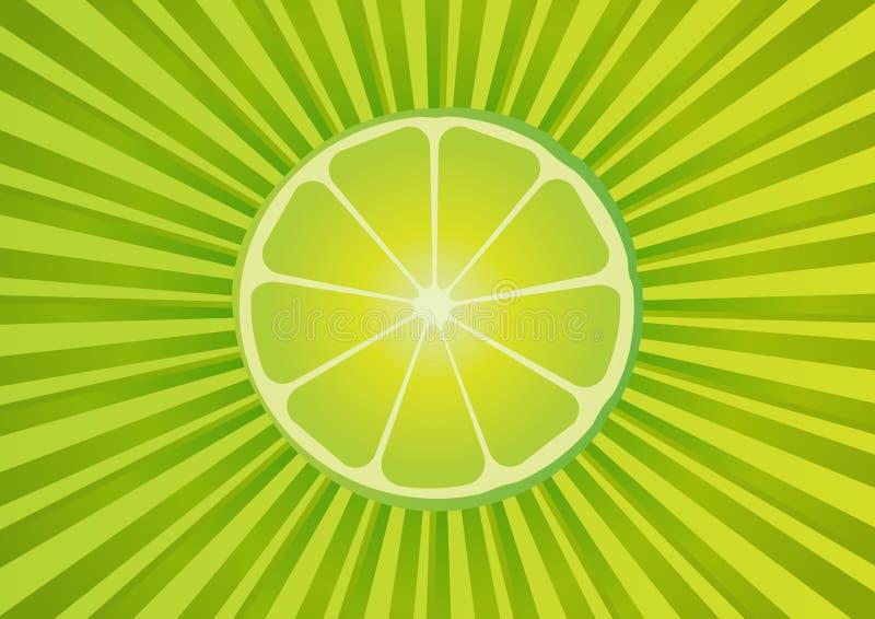 ny limefrukt för bakgrund royaltyfri illustrationer