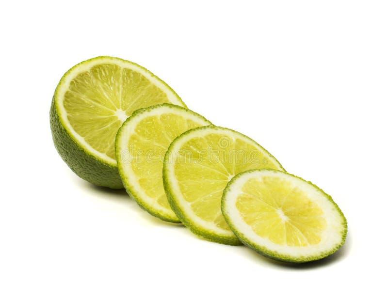 ny limefruktskiva arkivbilder