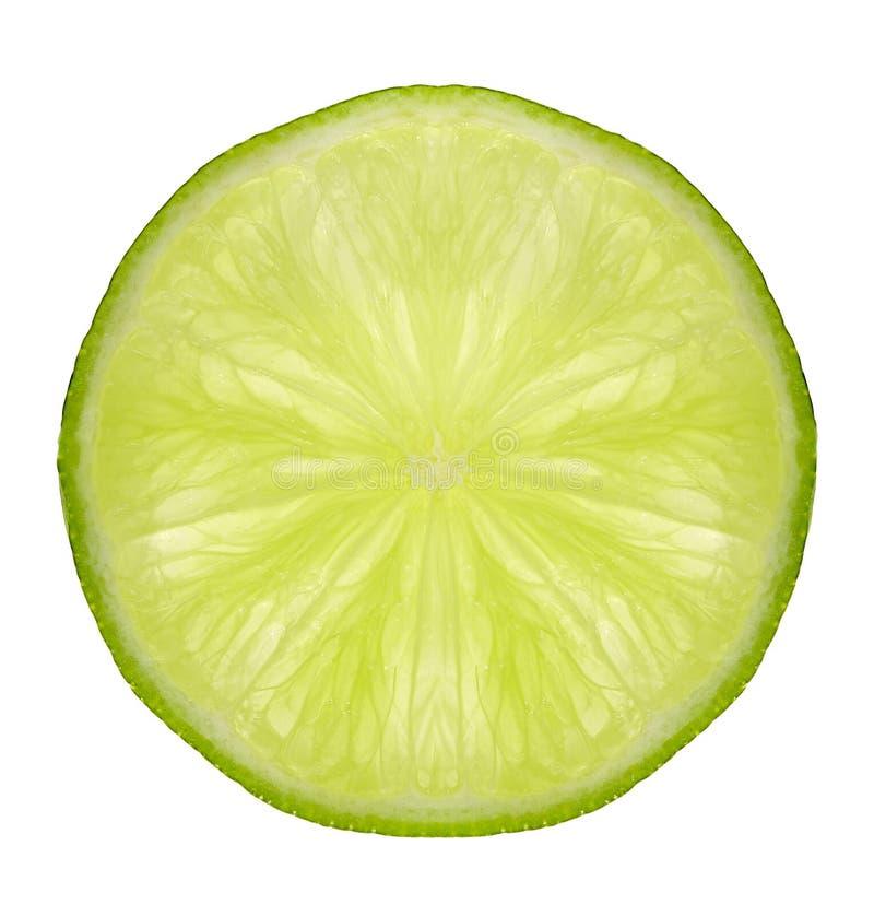 ny limefruktskiva arkivfoton