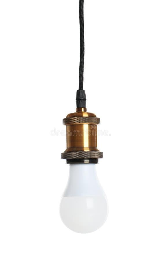Ny ljus kula för lampa arkivbild