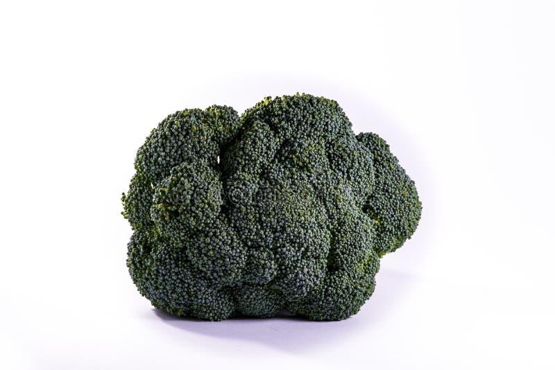 Ny matlagning rå Ingredi för enkel Bush för Brocoli stamöverkant grönsak arkivbilder